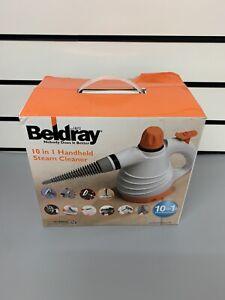 Beldray BEL0701TQN 10-in-1 1000W Handheld Steam Cleaner with Accessories -
