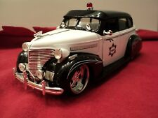 "Jada 1939 Chevrolet Master Deluxe "" Police"" 1/24 scale  New no Box 2011 release"