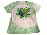 RARE Vintage Nickelodeon Shirt XL Double Dare VTG 90s Style Gm Show REPRINT 2016