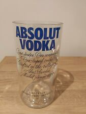 Absolut Vodka Upcycled Glass