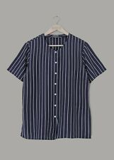 CACHAREL WOMENS VINTAGE NAVY AND WHITE STRIPED BLOUSE TOP -SIZE 38/UK 10-12-