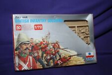 1/72 Scale British Infantry Soldiers Zulu War Esci 50 Sealed Italy new