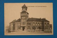 Nord 59 AK CPA Valenciennes 1915 Le Lycée Henri Wallon Ville Rue Maisons 1.WK WW
