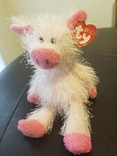 """New 2003 Ty The Punkies Collection Beanie Plush Snort The Pig 8"""""""