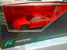 Ferrari f40 F 40 1987–1992 Red Rouge Super Voiture de sport v8 Biturbo kyosho Dnano 1:43