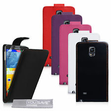 Yousave Accessories For The Samsung Galaxy Note 4 PU Leather Flip Case Cover UK
