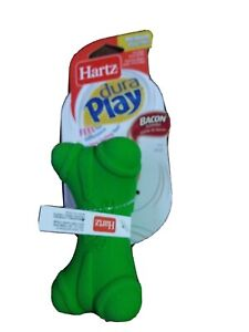 1 PC Hartz Green or pink Dura Play - Bacon Scented