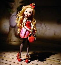 MATTEL EVER AFTER HIGH FIRST WAVE ISSUE APPLE WHITE DOLL!!