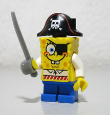 Spongebob Squarepants Pirate 3817 Sword Cartoon LEGO Minifigure Figure fig