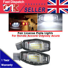 2pcs 18 LED License Number Plate Light Lamp For Honda Accord Acura Legend Civic