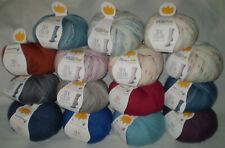 100 gr REGIA PREMIUM SILK 4-fädig / 4-fach Sockenwolle mit Seide uni + color