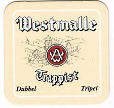 Tapa de cerveza westmalle TRAPPIST; frontera.