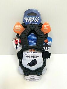 SnowTrax Yaktrax Ice Snow Traction Cleats for Shoes L-XL Men 8-12 Women 9.5+