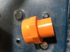 """Blazemaster®  CPVC 1"""" x 1/2"""" Spigot Fem. Sprklr Head Adptr w/Metal Thread Insert"""