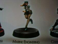 Corvus Belli Infinity Marine Enginering Officer metal new