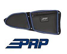 PRP Seats Door Bag - Front Passenger Side Black / Blue for 2014-2017 Polaris RZR