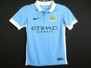 NWOT Nike Youth MANCHESTER CITY FC Jersey Soccer Shirt Size Boys Large
