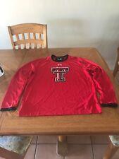 Under Armour Texas Tech University Red Raiders Sweater Large Shirt TTU T-shirt