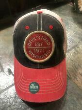 Hat Cap Devil's Head Wixconsin Relaxed Fit Soft Mesh Back golf hike fish bike
