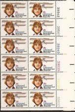 "US Stamp 1980 Blanche Stuart ""Betty"" Scott Airmail 12 Stamp Plate Block #C99"