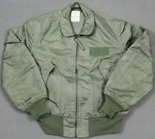 Usaf Military Issue Cwu-36/P Summer Mens Flyer's Jacket Large 42-44