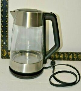 OXO Brew Cordless Glass Electric Kettle 1.75 L Clear  8710300