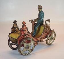 Penny toys ancien en tôle moteur VOITURE MOTEUR VOITURE AVEC CHAUFFEUR environ 1910 #1026