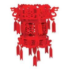 Felt Chinese Palace Lantern 18 Inch International Asian Decoration