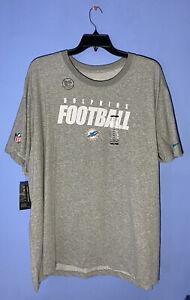 RARE SIZE 4XL Mens Nike Miami Dolphins T-Shirt NFL Football Dri-FIT CK1087 063