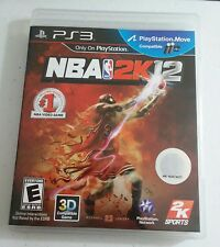 NBA 2K12 PS3 Playstation 3 Complete