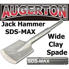 SDS-MAX JACK HAMMER SQUARE CLAY SPADE CHISEL. JACKHAMMER SHOVEL DIGGER. SDS MAX