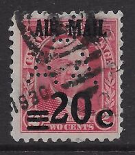 Canal Zone C5 used w/ BAA perfin, a very seldom offered item, F-VF