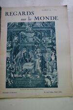 REGARDS SUR LE MONDE N°61 1938 NUMERO SPECIAL NOEL JOUETS NEIGE