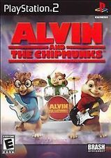 NEW SEALED Alvin And The Chipmunks PS2 Video Game band music songs dance sing