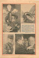 Appareil Photo Reporter-Photographe Pistolet Magnésium/Exposition Coloniale 1933