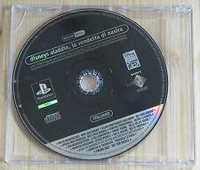 Aladdin la Vendetta di Nasira - Promo Gioco Completo - New - PlayStation 1 - PSX