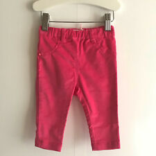 BILLIBLUSH HOT PINK VELVET FELT BABY GIRLS TROUSER - Size UK12MONTHS/EUR74