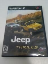 Jeep Thrills Complete In Box PlayStation 2 PS2