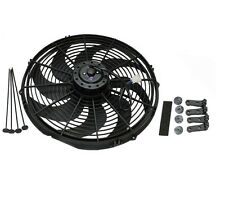 "16"" HEAVY DUTY RADIATOR ELECTRIC FAN 3000 CFM  REVERSIBLE SBC BBC 350"