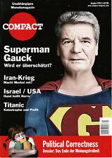 Zeitschrift COMPACT Nr. 4/2012 - Supermann Gauck