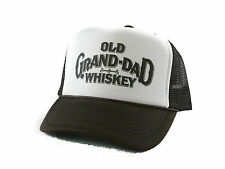 Old Grand Dad Whiskey Trucker Hat mesh hat snapback hat brown