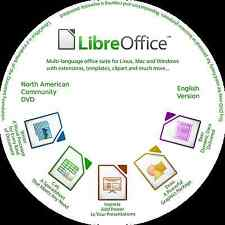 Libre Office 5.4 CD  2017 Suite  - Complete Office System only $0.99
