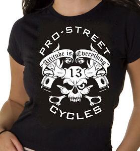"Pro-Street ""PISTON HEAD"" T-SHIRTS Harley®, Custom, Biker, Chopper, Motorcycle,"