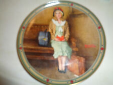 """Norman Rockwell Limited Edition Collector Plate, """"A Young Girl's Dream�"""