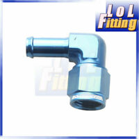 Blue 15.87MM Hose Barb Push On Fitting 1//2 NPT Thread to -10 AN Barb Fuel Pipe Adapter Aluminum 45 Degree 1//2 NPT Male to 5//8