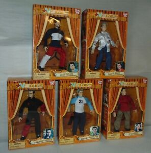 2000 N'SYNC COLLECTIBLE MARIONETTE DOLLS SET OF 5 Boxed