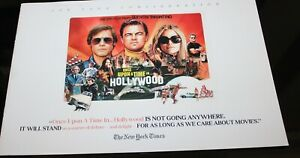 ONCE UPON A TIME IN HOLLYWOOD Press Kit book FYC for your consideration