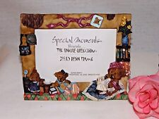Whimsical ~ Teddy Bear Resin Picture Frame ~ Bears Den Theme ~ 3½ x 5 Photo