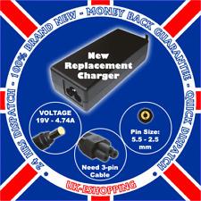 19V 4,74 A Toshiba PA3516E-1AC3 PA-1900-24 Adaptateur ca uk