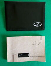 1996 96  Oldsmobile Silhouette Owners Manual  Near New E42B